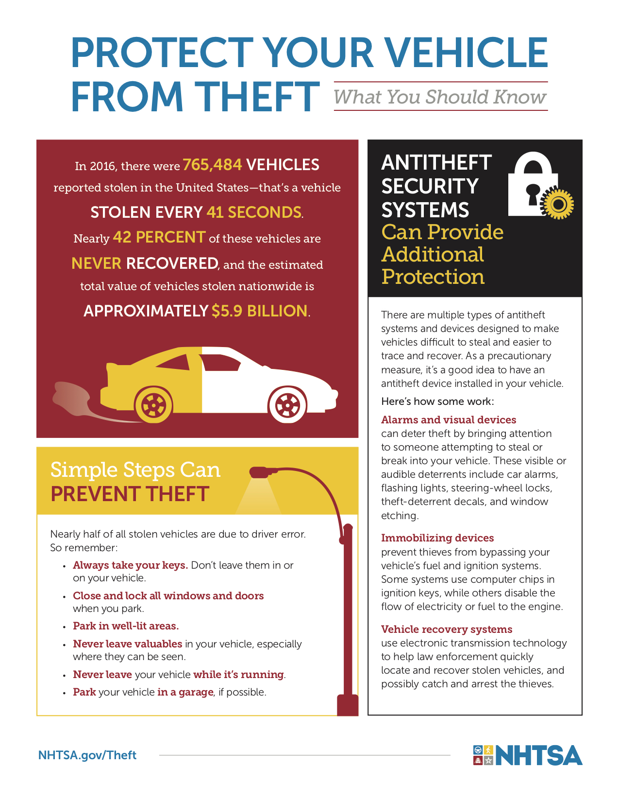 Auto Theft Prevention >> Vehicle Theft Prevention Tips Hannabass And Rowe Collision